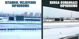 İstanbul ve Bursa'da İdmana KAR Engeli