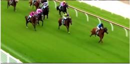 Dünyada Gençlerin bir arada böyle heyecanla bir at yarışı ilk defa izlendi.