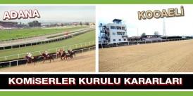 Alican İnci, 14 gün at binmeme cezası aldı, A.Sözen ve M.Turan süre haklarını kullanmak istediler