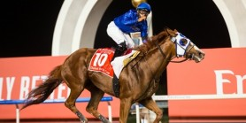 25'inci Dubai World Cup'u  Mystic Guide jokeyi  Luıs Seaz ile kazandı
