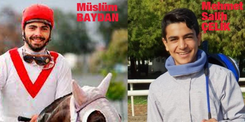 Mehmet Salih Çelik ve Müslüm Baydam 7 gün at binmeme cezası aldı