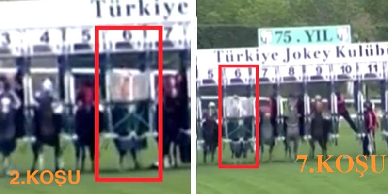 6 Mayıs Perşembe günü Ankara'da 2 koşuda false startlar verildi ve bakın fatura kimlere kesildi