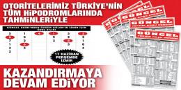 Gazeteniz GÜNCEL Perşembe İzmir 6'lısını da boş geçmeyerek okuyucularına 6.757,14 TL kazandırdı