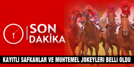 Şampiyon CALL TO VICTORY, 16 Temmuz Bursa'da Start alıyor, Perşembe, Cuma ve Cumartesi GRUP Koşularının muhtemel jokeyler belli oldu