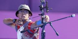 Milli okçumuz Mete Gazoz finalde İtalyan rakibi Mauro Nespoli'yi yenerek Olimpiyat tarihimizin ilk Şampiyon okçusu oldu!