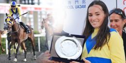 Çok üzgünüz. Fegentri Amatör Kadın Biniciler Dünya Şampiyonası'nda mücadele eden Eszter Jeles'i kaybettik